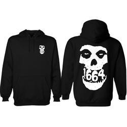 1664 BMX Skull Hoodie
