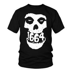 1664 BMX Skull T-shirt