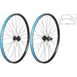 49°N MTB 27.5-inch Boost Disc 6-Bolt/TA Front Wheel