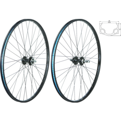 49°N MTB/Urban 29-inch/700C Rim & Disc Front Wheel