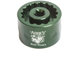 Abbey Bike Tools Dual Sided Bottom Bracket Socket Cup (for Dura Ace/Ultegra)