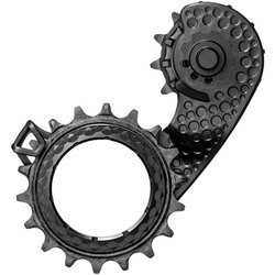absoluteBLACK HOLLOWcage Oversized Derailleur Pulley Cage for Shimano 9100 / 8000