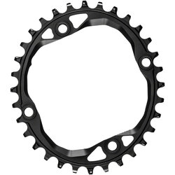 absoluteBLACK Oval 104 BCD 4-Bolt Chainring
