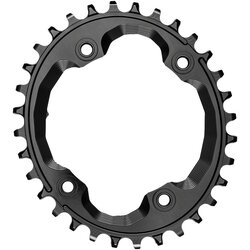 absoluteBLACK Oval 96 BCD Asymmetric Chainring for Shimano XTR M9000