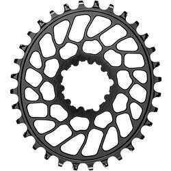 absoluteBLACK Oval Direct Mount Chainring for SRAM 3-Bolt 0mm Offset