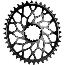 absoluteBLACK Oval Direct Mount CX Chainring for SRAM 3-Bolt 6mm Offset