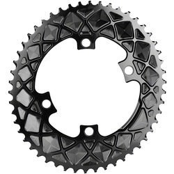 absoluteBLACK Premium Oval 110 BCD 4-Bolt Road Outer Chainring for Shimano 9000/6800/5800