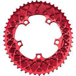 absoluteBLACK Premium Oval 110 BCD 5-Bolt Road Outer Chainring for SRAM