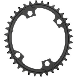 absoluteBLACK Premium Oval 110 BCD 4-Bolt Road Chainring for Shimano M9100/8000