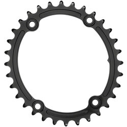 absoluteBLACK Premium Sub-Compact Oval 110 BCD 4-Bolt Road Inner Chainring
