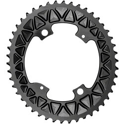 absoluteBLACK Premium Sub-Compact Oval 110 BCD 4-Bolt Road Outer Chainring