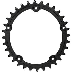 absoluteBLACK Premium Sub-Compact Oval 110 BCD 5-Bolt Road Inner Chainring