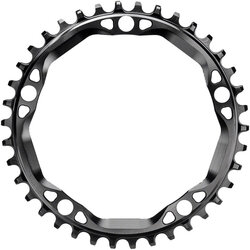 absoluteBLACK Round 130 BCD 5-Bolt CX Chainring