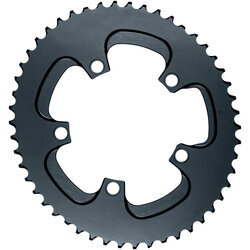 absoluteBLACK Silver Series Oval 110 BCD 5-Bolt Outer Chainring