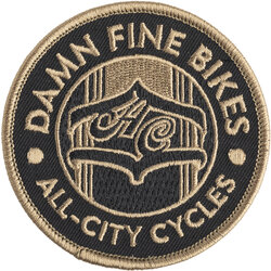 All-City Damn Fine Patch