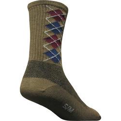 SockGuy Argyle Crew Socks