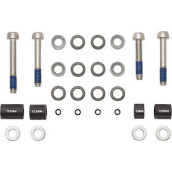 Avid Front 180mm/Rear 160mm Post Bracket Hardware Kit