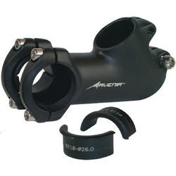 Avenir Fit Stem w/Handlebar Shims (+/- 40-degrees)