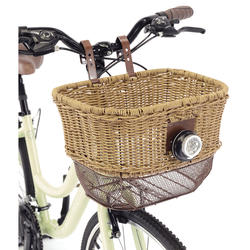 Axiom City-Wicker Front Basket