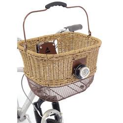 Axiom City-Wicker DLX Front Basket