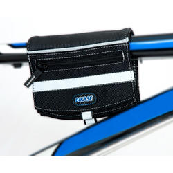 BiKASE Alpine Al Clutch Purse and Top Tube Bag