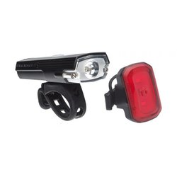 Blackburn Dayblazer 400 Front + Click USB Rear Light Set