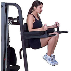 Body-Solid Vertical Knee-Raise and Dip Station for G9S