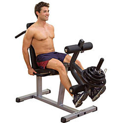 Body-Solid Seated Leg-Extension & Supine Curl