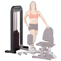 Body-Solid Free Standing 210-Pound Weight Stack