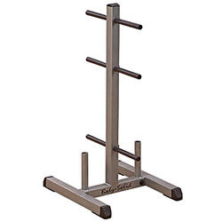 Body-Solid Standard Plate Tree & Bar Rack