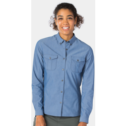 Bontrager Adventure Women's Cycling Chambray Shirt