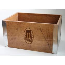 Brooklyn Bicycle Co. Wooden Bike Crate