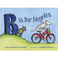 Buddy Pegs B is for Bicycles