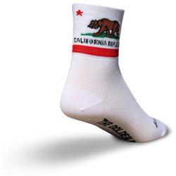 SockGuy California Flag Socks