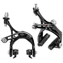 Campagnolo Record-D Skeleton Brake Calipers (Front: Dual-Pivot; Rear: Mono-Pivot)