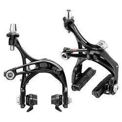 Campagnolo Super Record-D Skeleton Brake Calipers (Front: Dual-Pivot; Rear: Mono-Pivot)