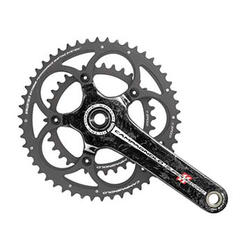 Campagnolo Super Record Carbon CT Ultra-Torque Crankset (50/34)