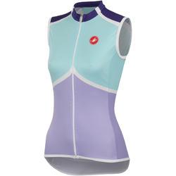 Castelli Mondrian Sleeveless Jersey FZ - Women's