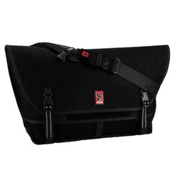 Chrome Metropolis Buckle Messenger Bag