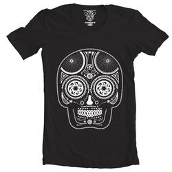 Clockwork Gears Day Of The Dead T-Shirt