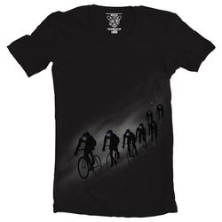 Clockwork Gears Night Rider T-Shirt