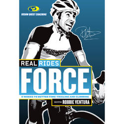 CycleOps RealRides Force Indoor Trainer DVD