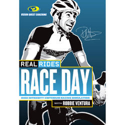 CycleOps RealRides RaceDay Indoor Trainer DVD