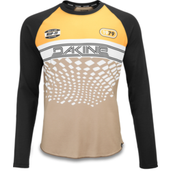 Dakine Dropout LS Bike Jersey - Golden Glow Stingray