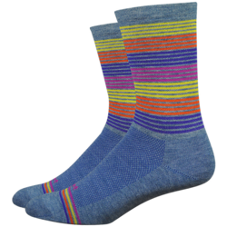 DeFeet Wooleator Comp 6-inch Business Time Socks