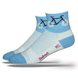 DeFeet Aireator Petal Power Blue - Women's