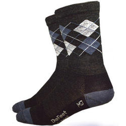 DeFeet Wooleator Argyle Hi Top