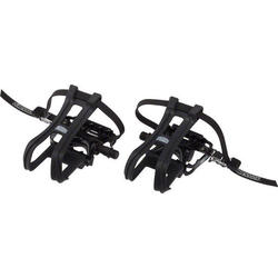 Dimension Combo Compe Pedals/Toe Clip Set