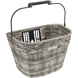 Electra All Weather Woven Front QR Basket