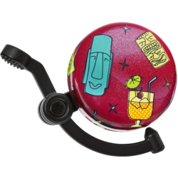 Electra Tiki Time Domed Linear Bike Bell
